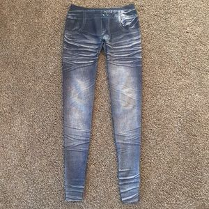 "Other - Girls ""distressed"" Jeggings"